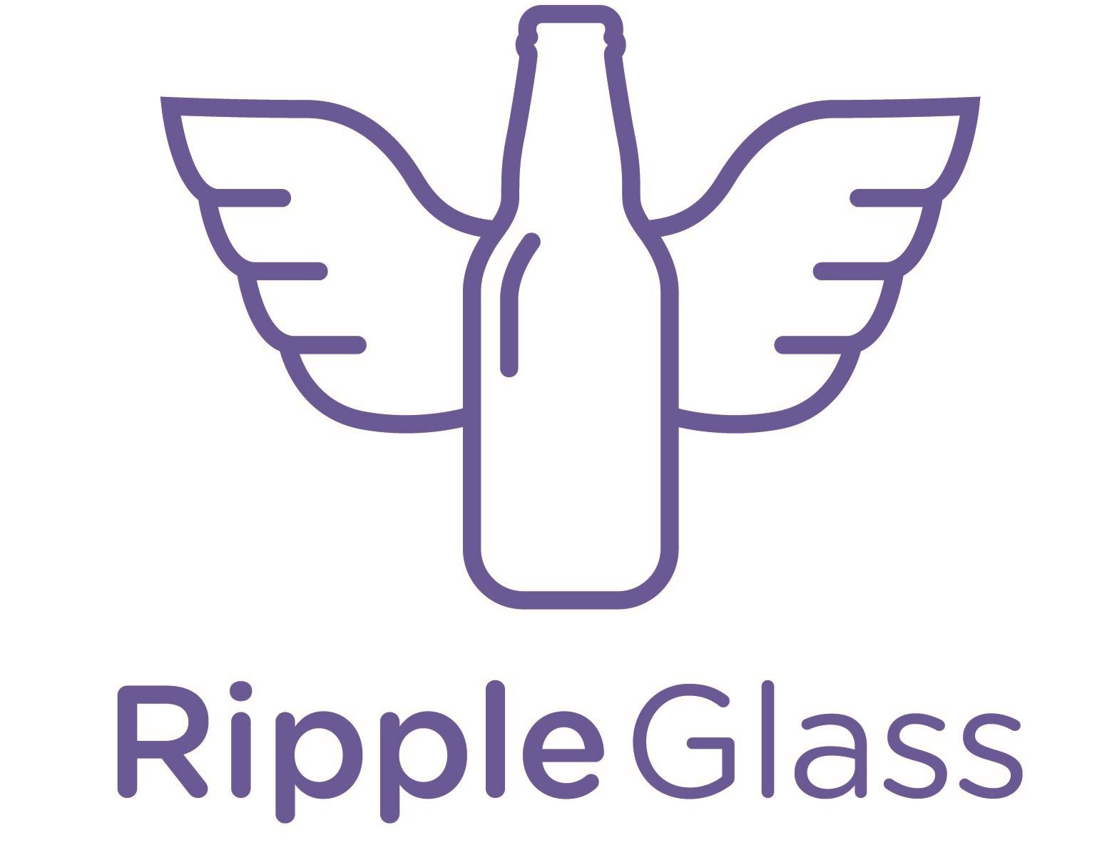 Ripple GLass Purple Logo - Centered (Cropped)