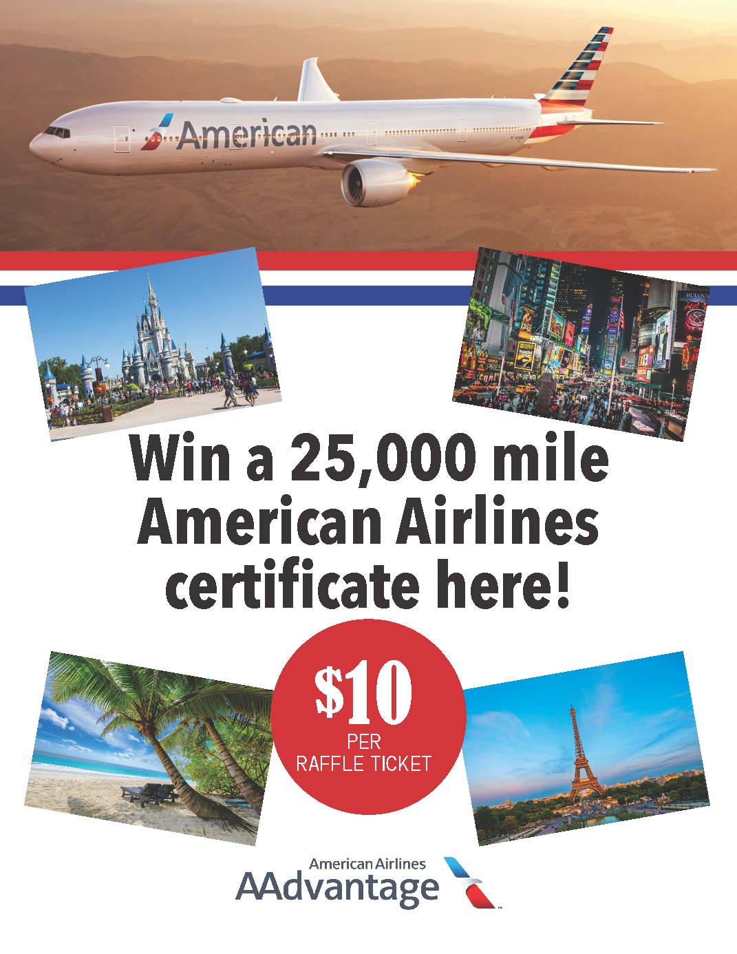 American Airlines Raffle